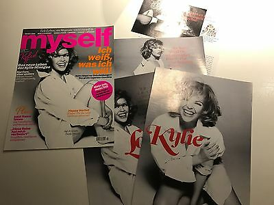 KYLIE MINOGUE 6 page GERMAN 2012 article including COVER! Clippings Cuttings