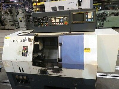 """Used Leadwell TLC-10AP CNC Turning Center Lathe Fanuc Tailstock 6"""" Chuck 1996"""