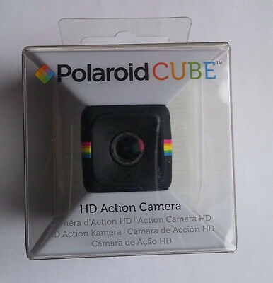 Brand New Polaroid Cube HD 1080p Lifestyle Action Video Camera (Black)