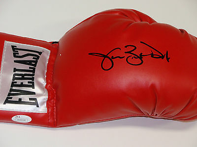 James Buster Douglas Red Everlast Boxing Glove James Spence Hologram COA