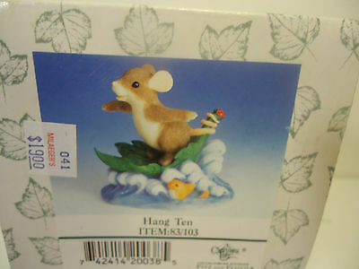 Charming Tails - Hang Ten.  Mint in Box