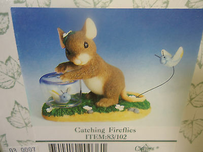 Charming Tails - Catching Fireflies.  Mint in Box