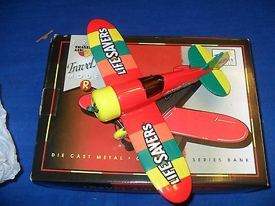 1996 SpecCast DIE CAST METAL REPLICA LIFESAVERS 1929 TRAVEL AIR MODEL R