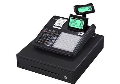 Casio Se-C450Md Electronic Cash Register Very Easy To Use And Free P&P