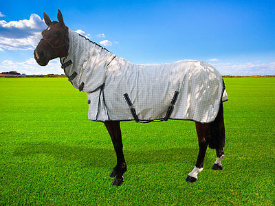 Cotton Ripstop Combo Horse Rug 6'6