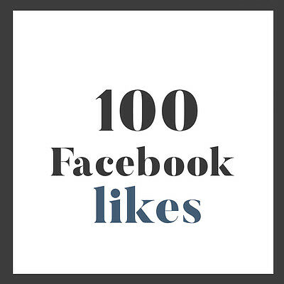 100 Facebook like for FANPAGE | Professional fast service | HQ