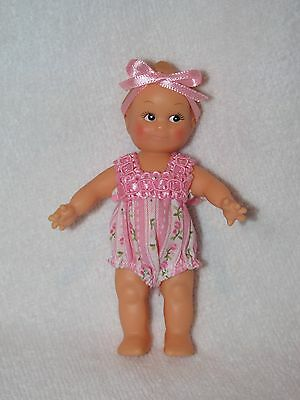"Precious 4"" Vinyl  Kewpie Doll Dressed In A Sunsuit"