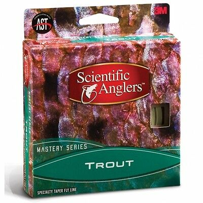 Scientific Anglers Mastery Series Trout WF 4-F Fly Line SALE & Free US Shipping