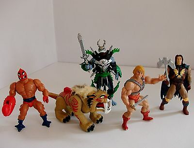 He- Man Master of the Universe  Action Figure Bundle