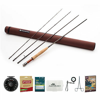 Redington Classic Trout Fly Rod & Behemoth Reel Outfit w/ SA Mastery Trout Line