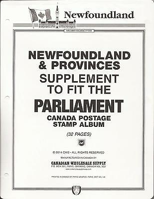 . Parliament Canada Stamp Album Provinces-B&W-New-Complete-PAGES ONLY-Free Ship