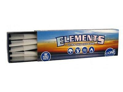 Elements King Size Pre Rolled Cones 40 Count 1 Box Of 40 Cones Rice Paper Raw