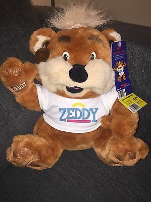 Zeddy Zellers Mascot Vintage 1989 with all tags, mint condition RARE