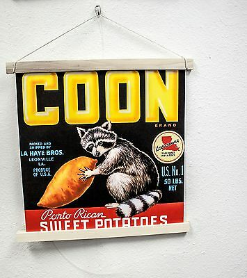 Coon Wall Scroll