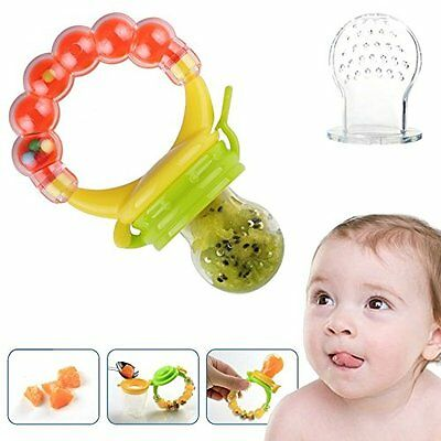Baby Feeder Pacifier Silicone Sac Teether Nibbler Soother for feeding food...