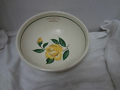 RARE Vintage Bake Oven Mixing Bowl ADVERTISING FARMERS COOP Sioux Center Iowa