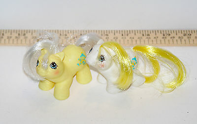 My Little Pony G1 Bigtop and Toppy Twin Baby Ponies