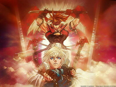 """034 Guilty Gear XrdRevelator - Action Fight Game 32""""x24"""" Poster"""