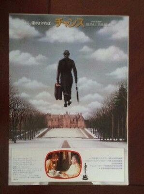 Being There 1979  Japanese  Chirashi  Mini Poster Peter Sellers
