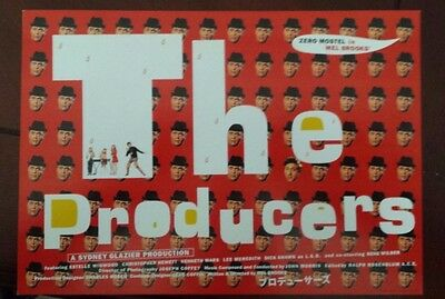 The Producers  R-2001  Original Japanese Chirashi  Mini Poster Gene Wilder