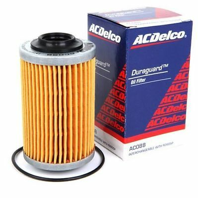 2 x Genuine AC Delco Oil Filter AC088 - Holden VZ/VE/VF Commodore V6 - Twin PACK