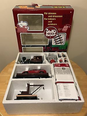 LGB 72429 Indoor/Outdoor Starter Set With Track w/ Original Box! Tested, Runs!