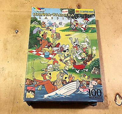 Hanna Barbera Classics 100 Piece Puzzle From 1993-Complete