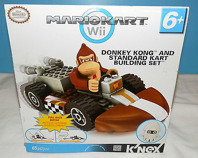 Donkey Kong & Kart Building set, K'Nex 65pc Nintendo Wii 38045 NEW