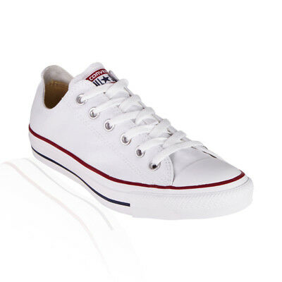 Converse All Star Chuck Taylor Low Casual Unisex Shoes - Optic White