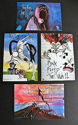 VINTAGE (1982) PINK FLOYD 'THE WALL' sealed full set of original Postcards, Exc