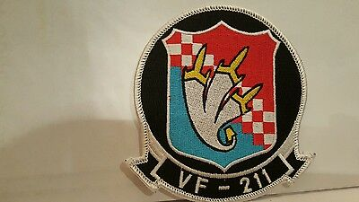 Navy VF-211 Color Patch 4 1/2 x 4 inches