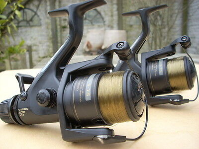 From REBE REELS: 2x Shimano baitrunner aero GT5010 XT-7 dynabalance