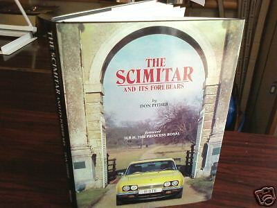 The Scimitar And Its Forebears Book Don Pither GTE GTC