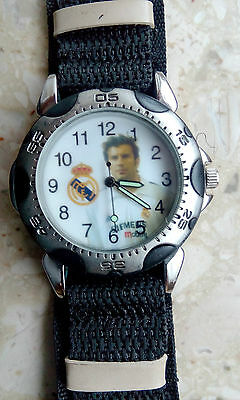 Real Madrid / Luis Figo wristwatch - unused, brand new, works fine