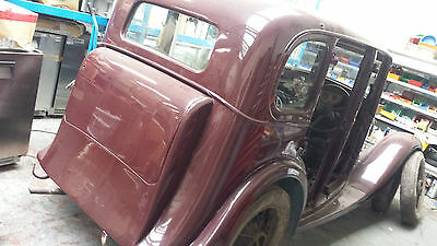 1935 standard  project, solid car