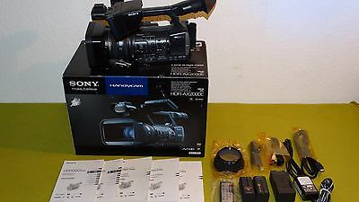 Sony HDR-AX2000E Camcorder schwarz - Top Zustand