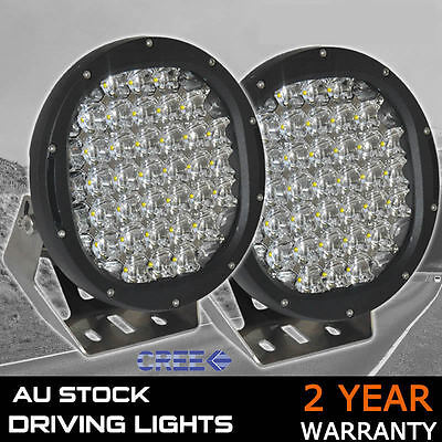 PAIR 9inch 5980W NEW CREE LED Work Driving Lights Spot light Offroad HID 12V 24V
