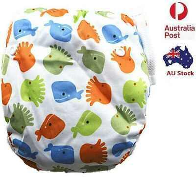 Brand New Reusable Swim Nappy Baby Toddler Cover Diaper Pants Nappies Swimmers