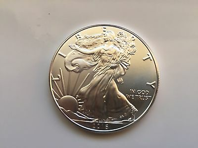 2016 1 oz Brilliant Uncirculated American Silver Eagle $1 coin