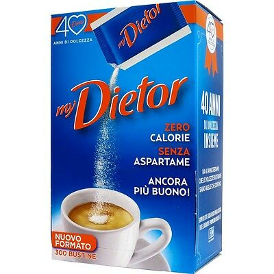 Dolcificante 300 bustine my Dietor