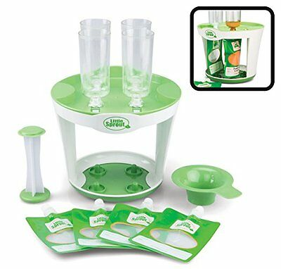 Squeeze Station Pack Disposable Pouches New Baby Kids Food Maker, Original US