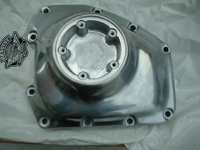 Harley Davidson Twin Cam Cam Cover,nosecone,polished Alloy,new Genuine 25363-01B