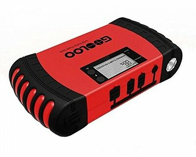 GOOLOO 700A Portable Car Jump Starter 18000mAh Phone Power Bank Auto Battery