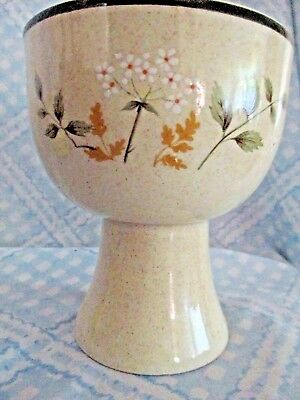 ROYAL DOULTON TANGIER PEDESTAL GOBLET, Will O' of the Wisp, Lambethware