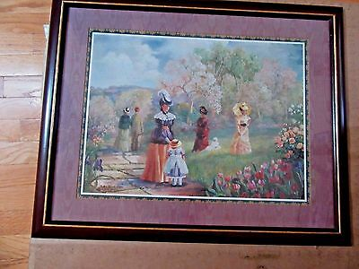 "Home Interior large picture by Betty Hebert ""Victorian Ladys in the Park"""