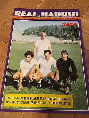 Magazine Official Real Madrid Bayern Benfica Munchen Porto Tournaments 1980