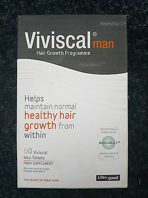 Viviscal Man Hair Growth Programme - 60 tbl 1 month supply