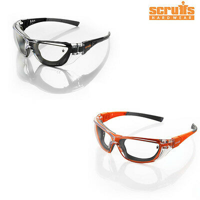 Scruffs FALCON Safety Spectacles UV Sun Protection Glasses - Work Sports Cycling
