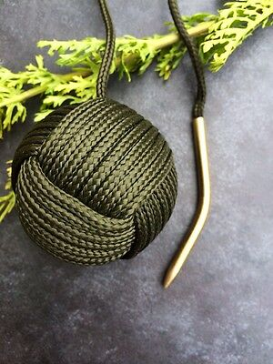 550 paracord curved needle / fid, monkeys fist, survival bracelet and more.