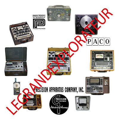 Ultimate Precision Apparatus PACO Operation Service repair Manuals Manual s DVD